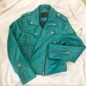 BlankNYC Faux Leather Moto Jacket Sz Medium